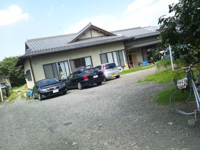 野口製麺所の駐車場
