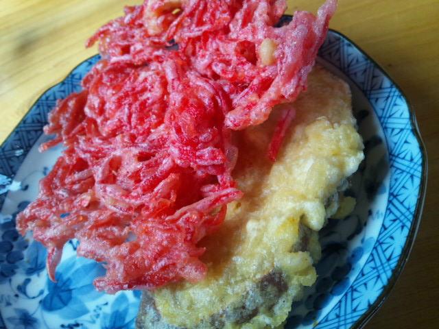 野口製麺所の天ぷら