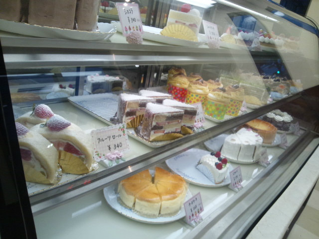 ラヴィアン・ローゼのケーキ