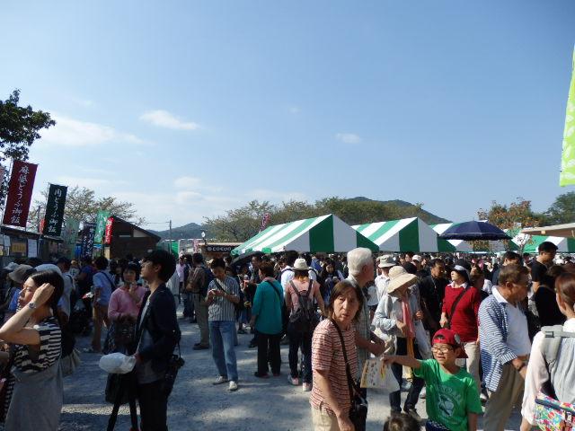 曼珠沙華公園の人混み