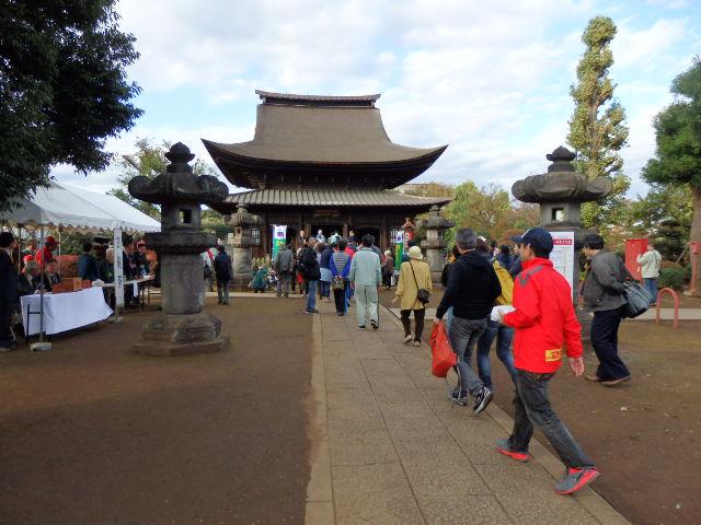 国宝の正福寺地蔵堂 外観