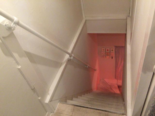 東村山 LULU 階段