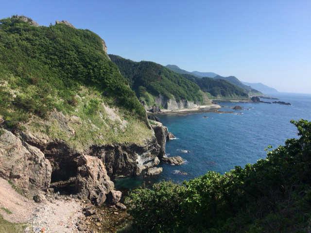 青森旅行 海岸線