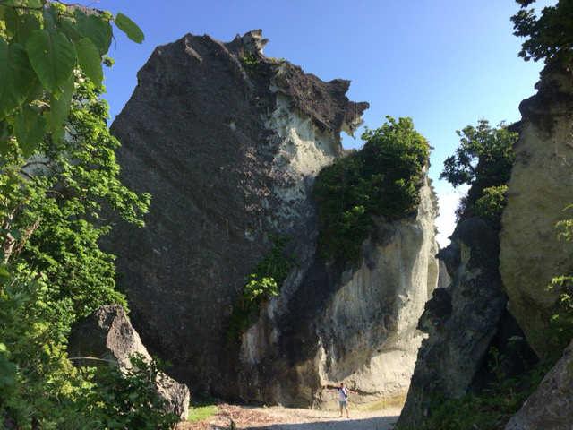 青森旅行 大きな岩