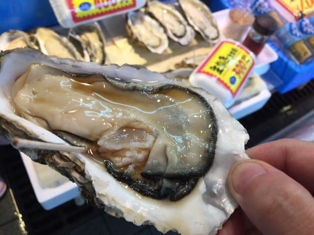 青森旅行 青森の牡蠣