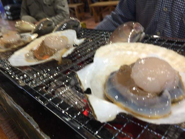 青森旅行 八食センター 網焼き