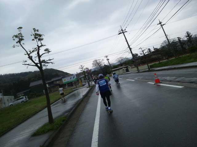 加賀温泉郷マラソン2015 雨