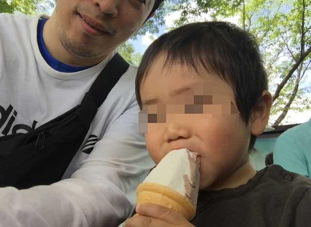 菖蒲祭り アイスクリーム