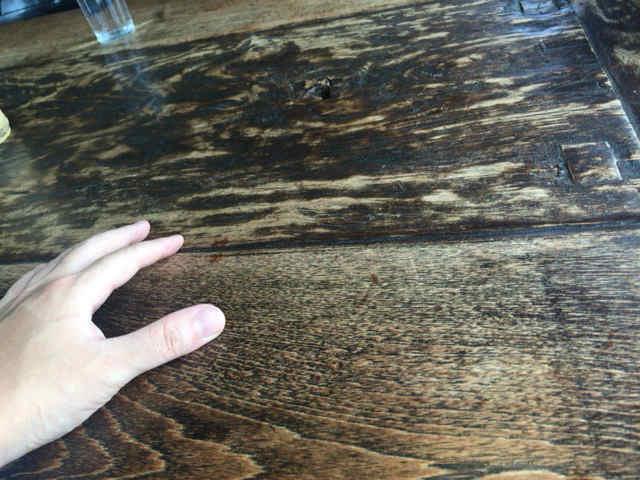 木空人 テーブル