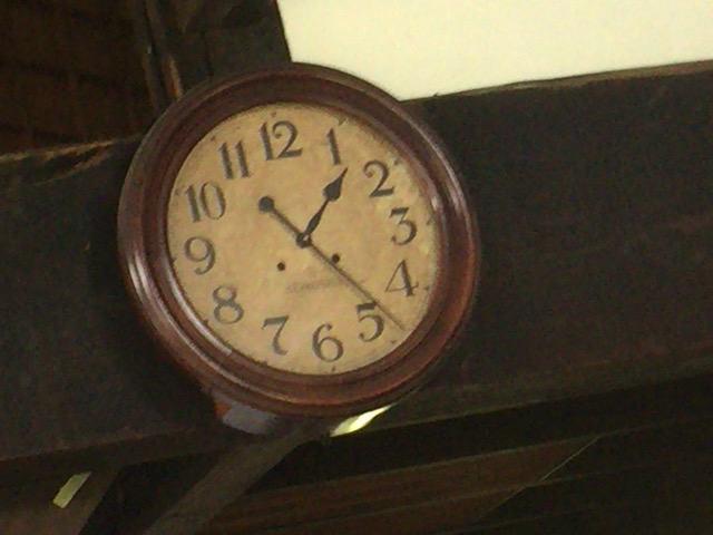 木空人 止まった時計