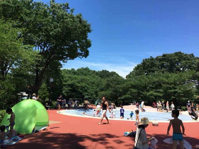 東村山中央公園 プール