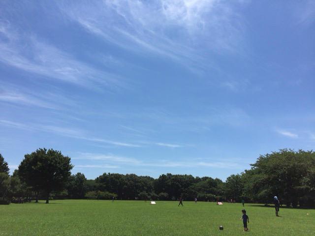 東村山中央公園 広場