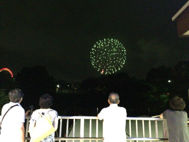 西武園ゆうえんち 花火 西武園駅