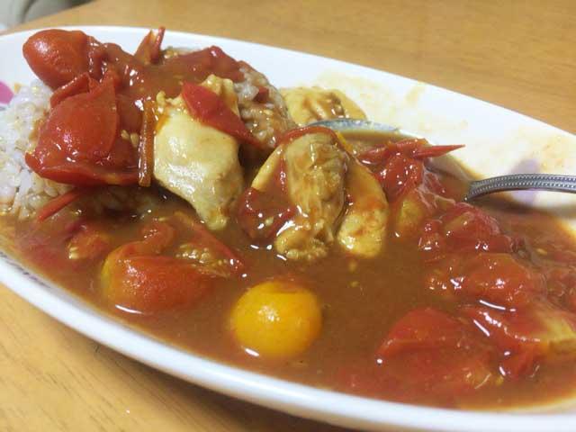 ミニトマトカレー レシピ