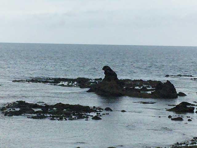 トライアスロン珠洲 ゴジラ岩
