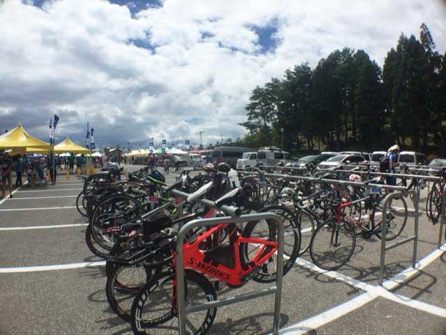 トライアスロン珠洲 高級自転車