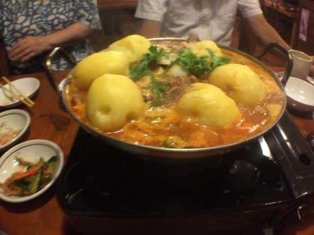 カムジャタン 仁寺洞 韓国料理