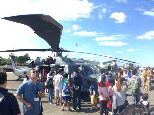 横田基地 友好祭 2015 ヘリコプター