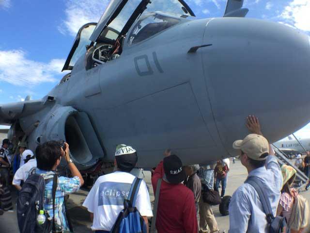 横田基地 友好祭 2015 戦闘機