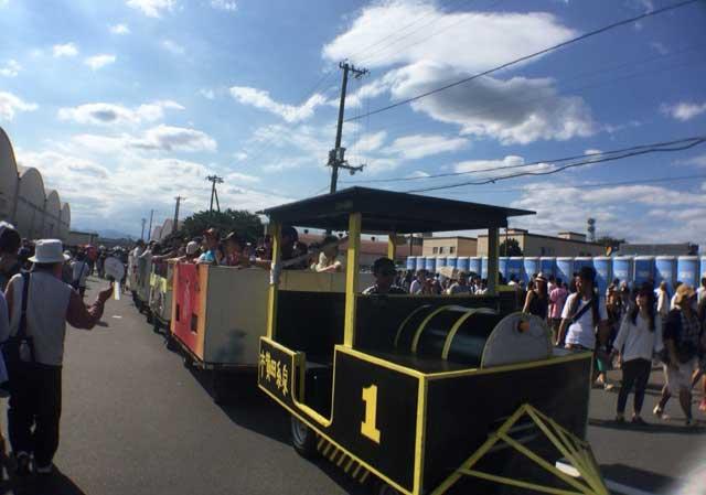 横田基地 友好祭 2015 列車