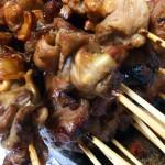 諏訪町の「たけうち食堂」で焼き鳥テイクアウトしてきた!