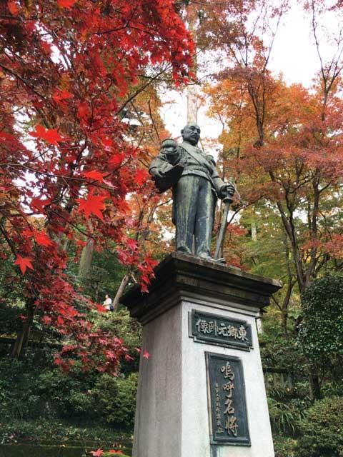 東郷公園 銅像