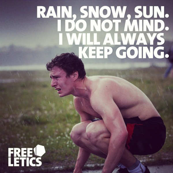 freeletics rain
