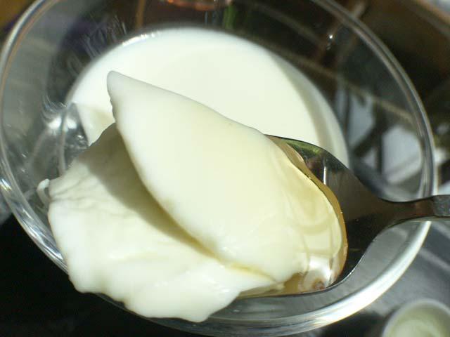 アガベシロップ 杏仁豆腐