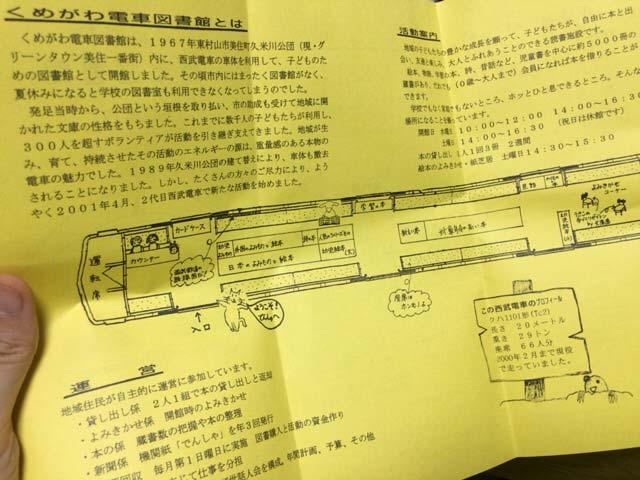久米川電車図書館