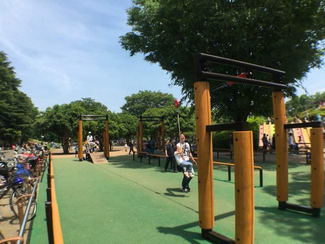 小金井公園 ロープ