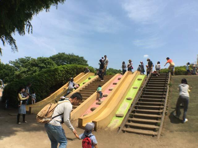 小金井公園 滑り台