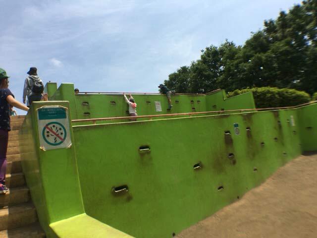 クライミング 小金井公園