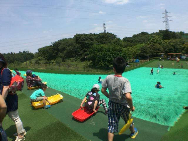 小金井公園 ソリ