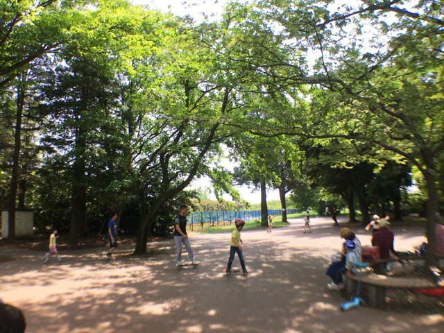 小金井公園 スケボー