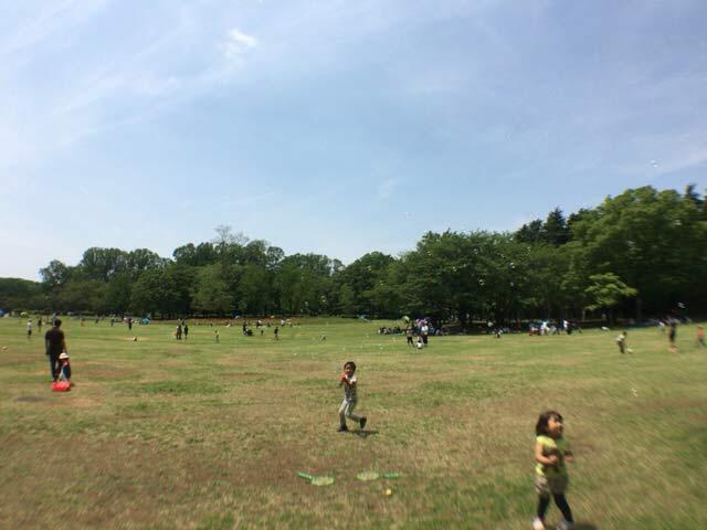 小金井公園 ボール遊び