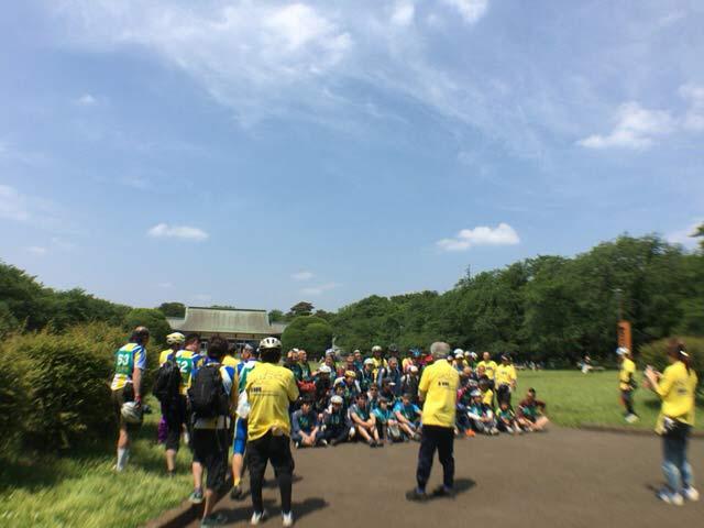 八王子自転車協会 小金井公園