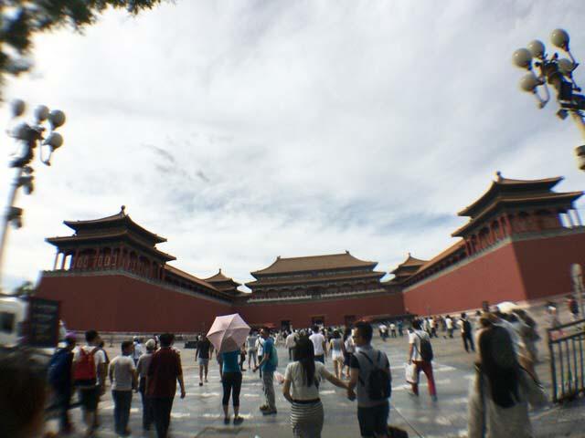 北京 天安門 内部