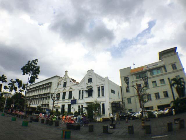 インドネシア オランダの建物