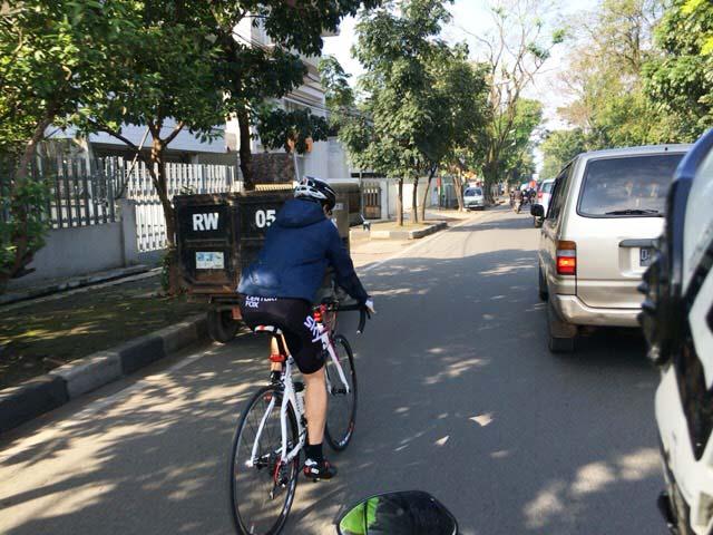 インドネシア ロードバイク