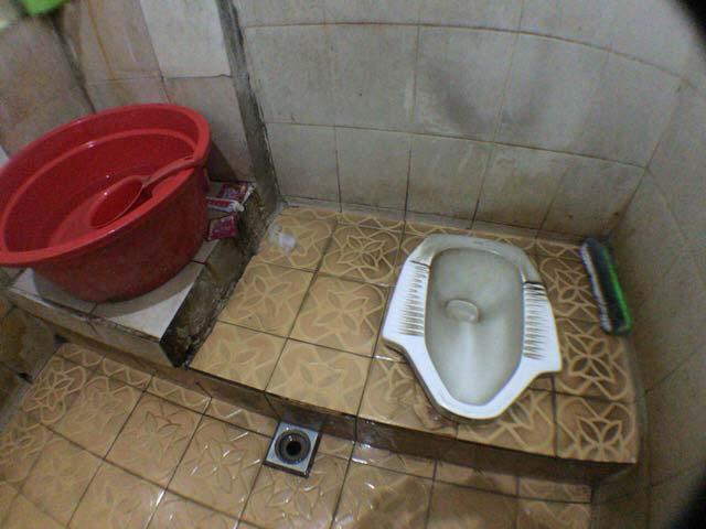 インドネシアのトイレ
