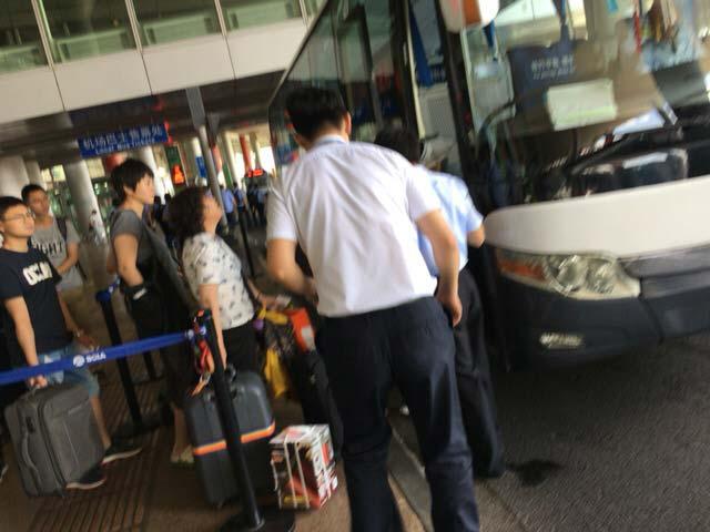 北京首都国際空港 インフォメーションスタッフ