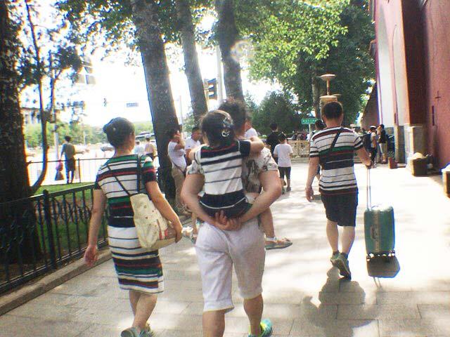 中国 ペアルック