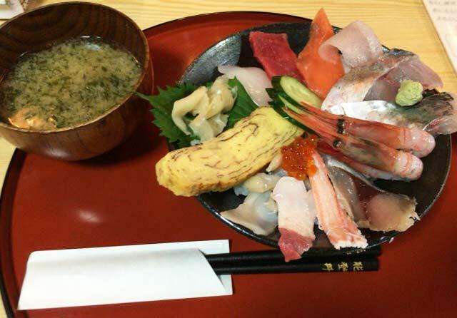 幸寿司 能登丼