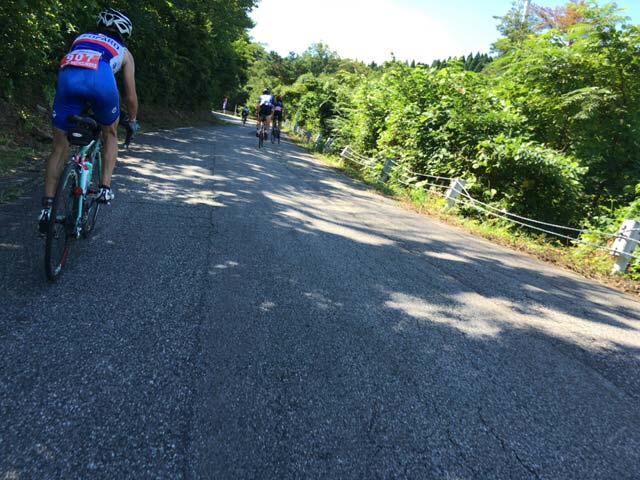珠洲 大谷峠 ロードバイク