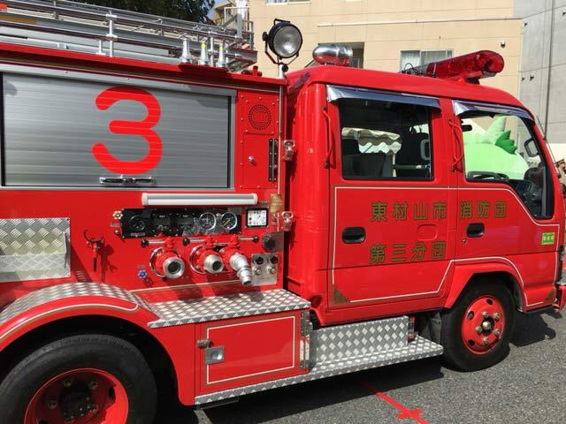 てんしゃばフェスタ 消防車
