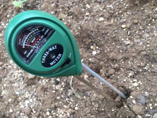 VENSMILE 3 in 1  土壌測定メーター