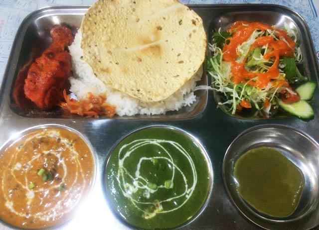 ネパール定食