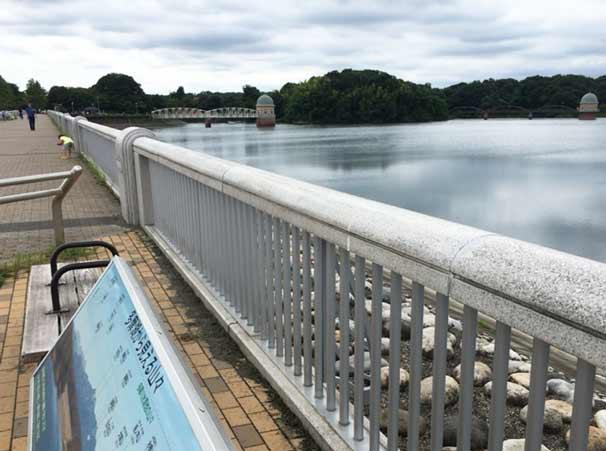 狭山公園 取水塔