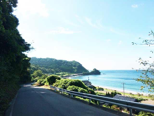 珠洲 自転車旅