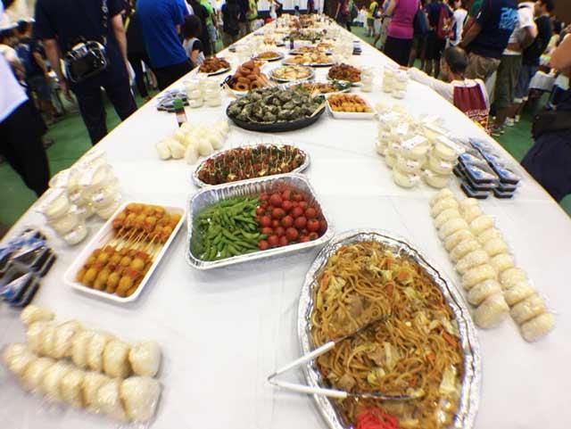トライアスロン珠洲 前日の食事